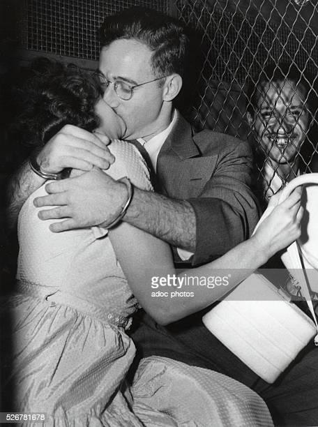 The arrest of Julius Rosenberg and Ethel Rosenberg in the United States On August 1950