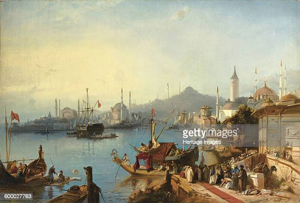 The Arrival Of Sultan Abdülmecid At The Nusretiye Mosque 1842 Private Collection Artist Jacobs Jacob