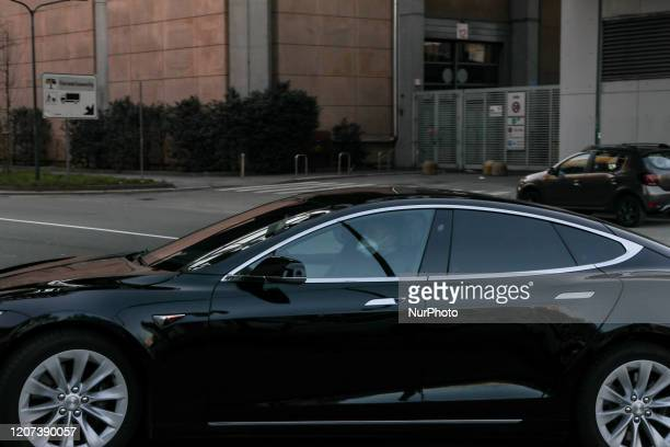 The arrival of the President of the Lombardy Region Attilio Fontana and Guido Bertolaso at the Milan Trade Fair, Milan, March 16, 2020. The spaces at...
