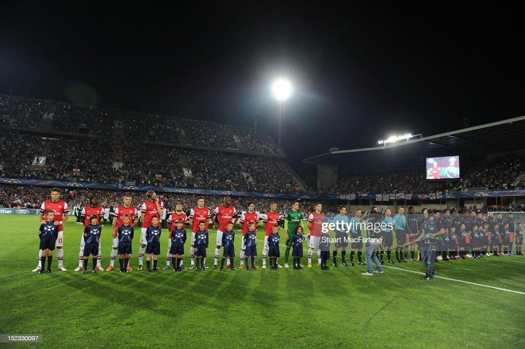 Montpellier Herault SC v Arsenal FC - UEFA Champions League : News Photo