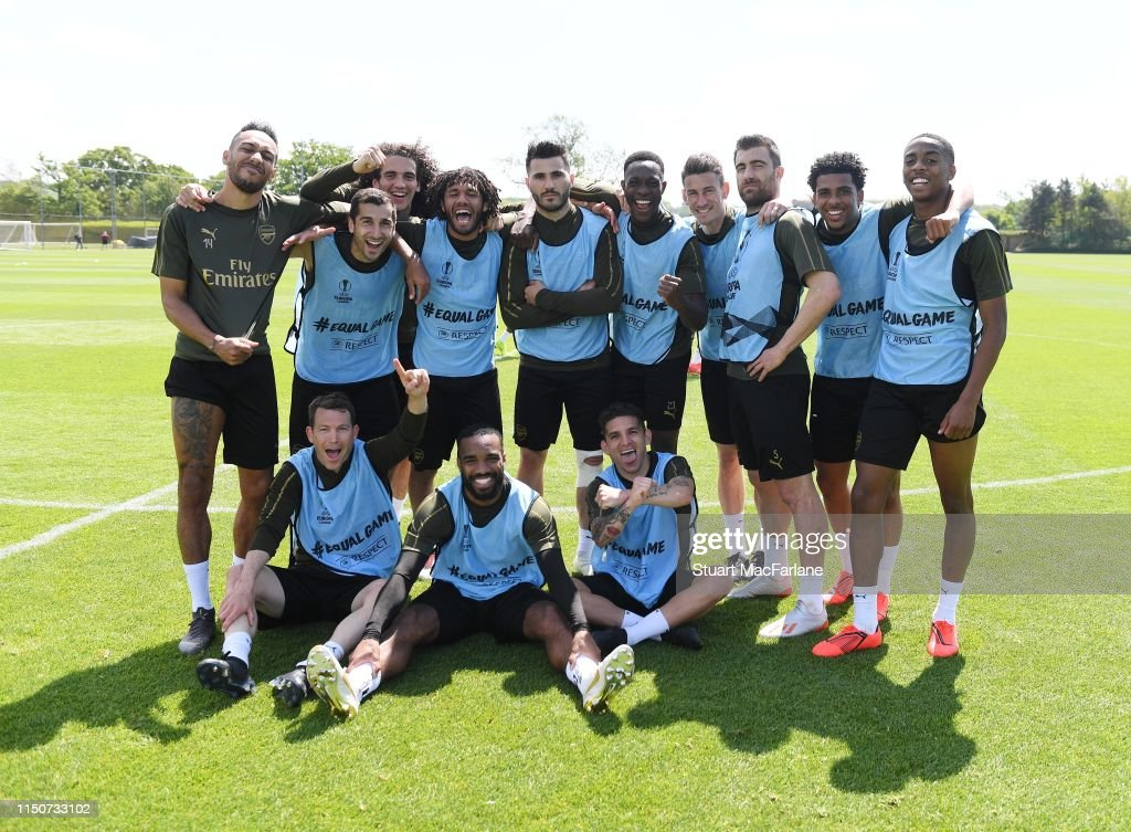 GBR: Arsenal Training and Media Day