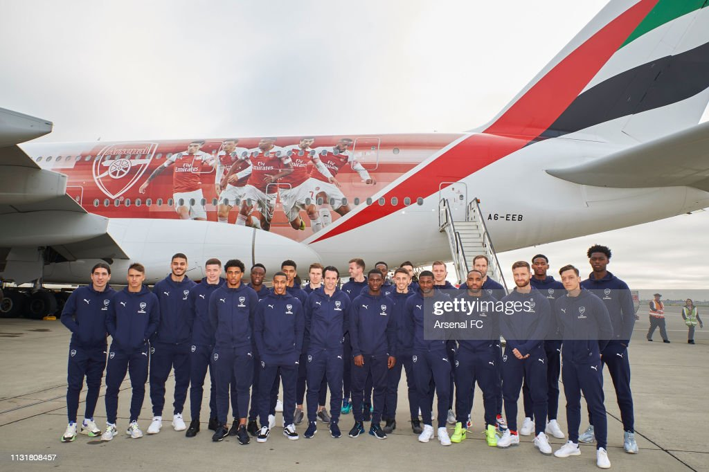 GBR: Arsenal Players Head to Dubai for Warm Weather Training