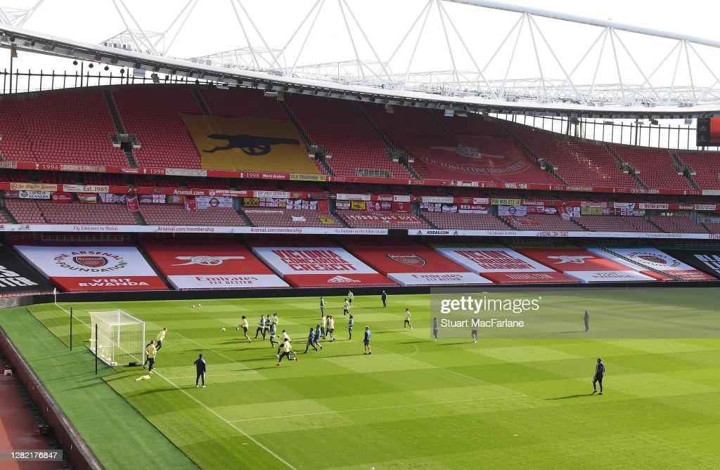 Arsenal v Leicester City - Premier League : Photo d'actualité