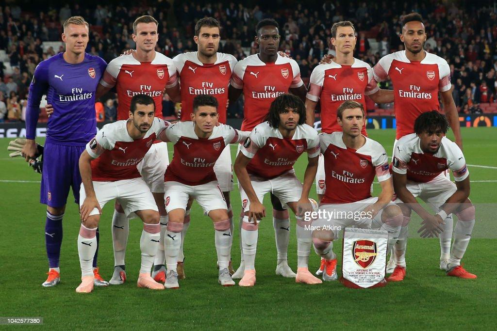 Arsenal v Vorskla Poltava - UEFA Europa League - Group E : News Photo