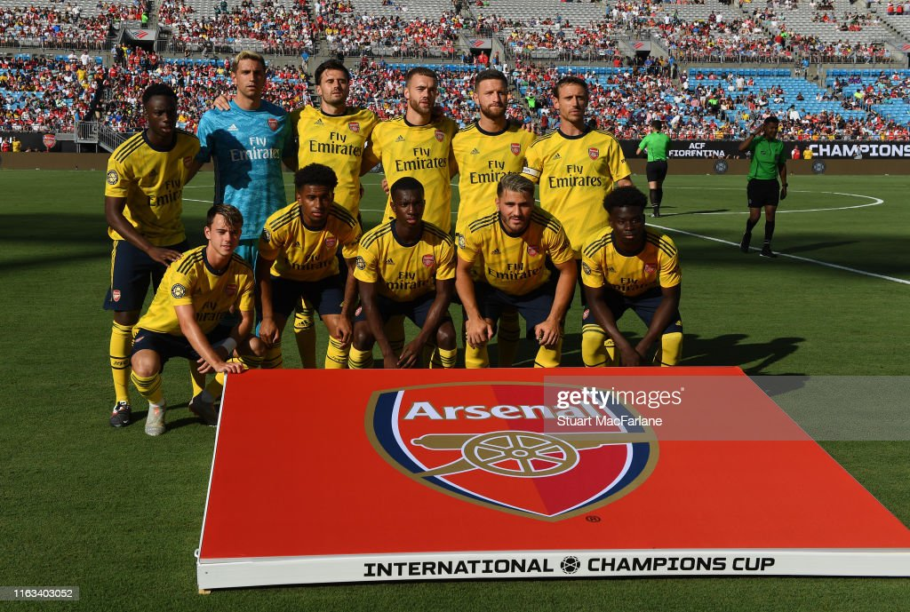 Arsenal v ACF Fiorentina - 2019 International Champions Cup : ニュース写真