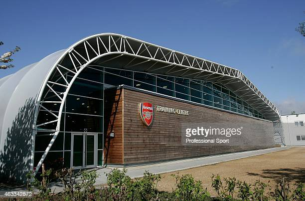 The Arsenal Training Centre at London Colney May 04 2009 in London England