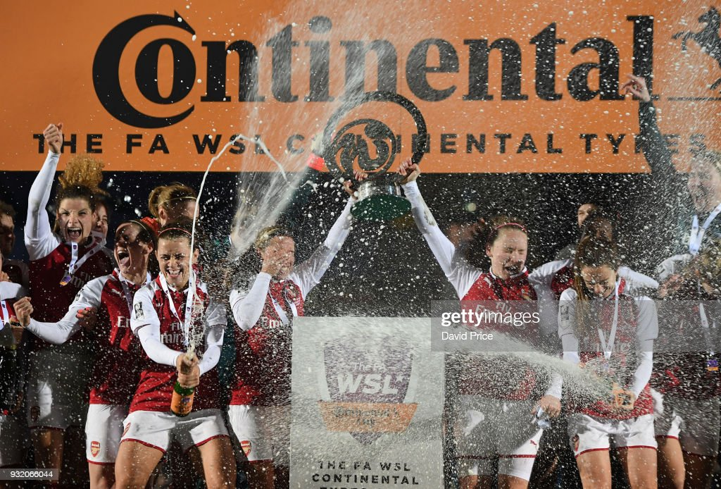Arsenal Women v Manchester City Ladies: Continental Cup Final : News Photo