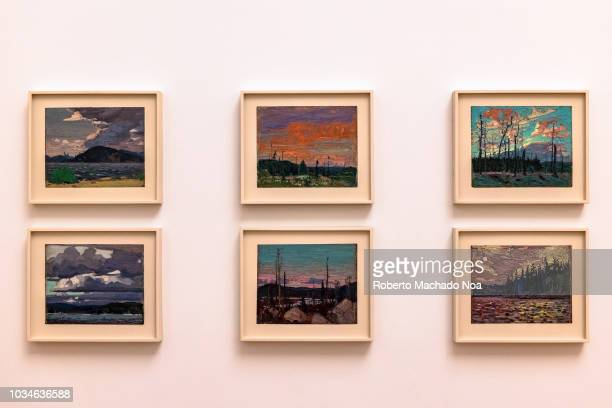 The Art Gallery of Ontario Six paintings belonging to 'The Group of Seven' They were a group of Canadian landscape painters initiated the first major...