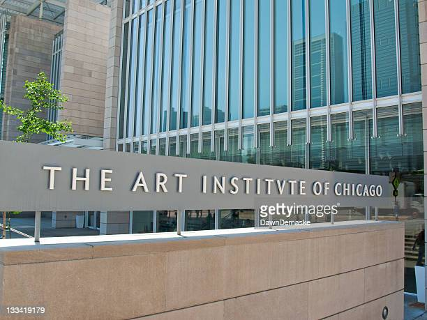 the art institute of chicago - art institute of chicago stock pictures, royalty-free photos & images