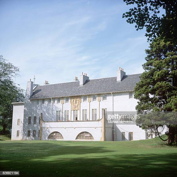 The Art Lover's House in Bellahouston Park Glasgow was designed by Charles Rennie Mackintosh in 1901 but was not actually built until 1990 | Location...
