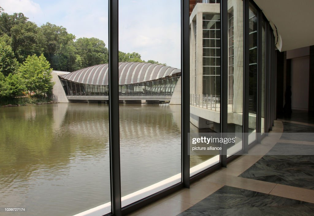 Crystal Bridges Museum of American Art in Bentonville : News Photo
