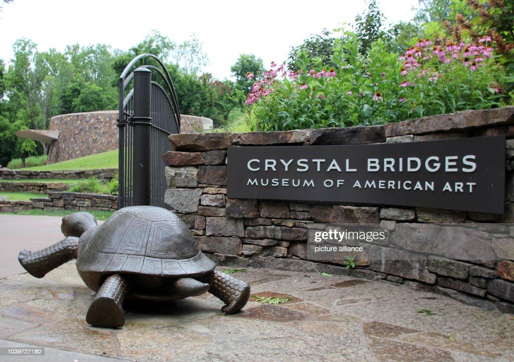 Crystal Bridges Museum of American Art in Bentonville : News Photo