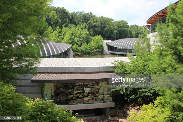 The art museum 'Crystal Bridges Museum of American Art' in Bentonville USA 30 June 2016 Photo Christina Horsten/dpa | usage worldwide