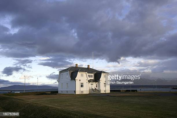 ICELAND REYKJAVIK The art nouveau villa Hoefdi Here in 1986 the summit between Mikhail GORBACHEV and Ronald REAGAN took place