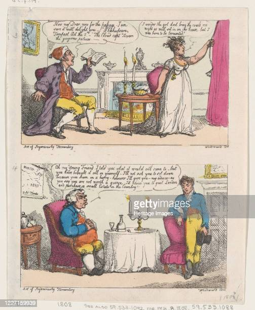 The Art of Ingeniously Tormenting 1808 Artist Thomas Rowlandson
