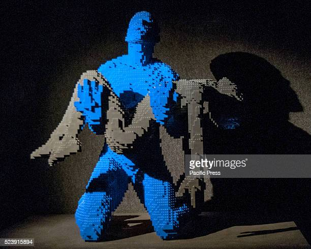 'The Art of The Brick' by Nathan Sawaya in Rome It is an exhibition of more than 80 sculptures made with Lego bricks staying on display until April 25