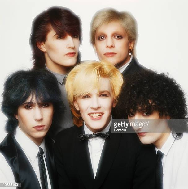 The art rock band Japan Richard Barbieri Steve Jansen David Sylvian Mick Karn and Rob Dean of Japan 10th October 1979