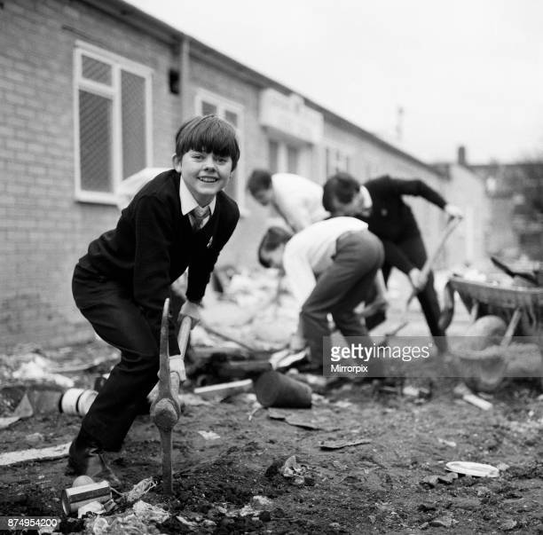 15 Year old Jack Wild who plays The Artful Dodger in the film version of Lionel Bart's 'Oliver' at his school the Barbara Speake Stage School Acton...