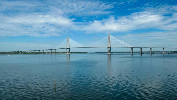 The Arthur Ravenel Jr. Bridge over the Cooper River in Charleston, South Carolina