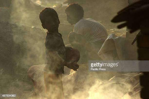 The artisans child standing amidst the smoke Pottery being a family trade not fetching much money the artisans children are obliged to carry forward...