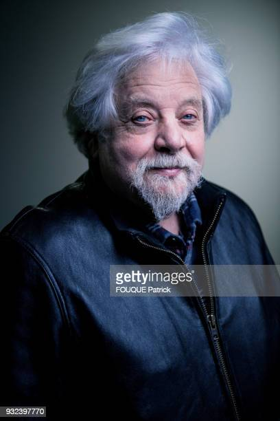 The artist JeanJacques Lebel is photographed for Paris Match on February 08 2018 in Paris France
