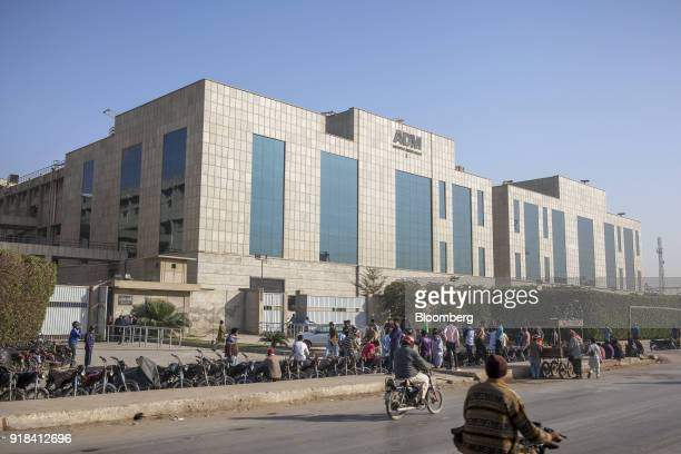 The Artistic Denim Mills Ltd factory and head office stands in Karachi Pakistan on Tuesday Feb 6 2018 Pakistans manufacturers have longsuffered from...