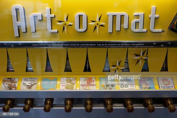 The Artomat is a repurposed vintage cigarette vending machine that now distributes pieces of original artwork The new Whole Foods Market opens on...