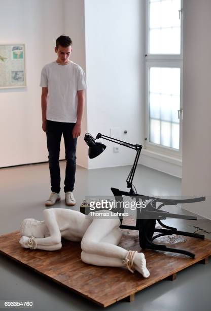 The artwork 'A Happening' by artist Dimitris Alithinos pictured on June 7 2017 in Kassel Germany The documenta 14 is the fourteenth edition of the...