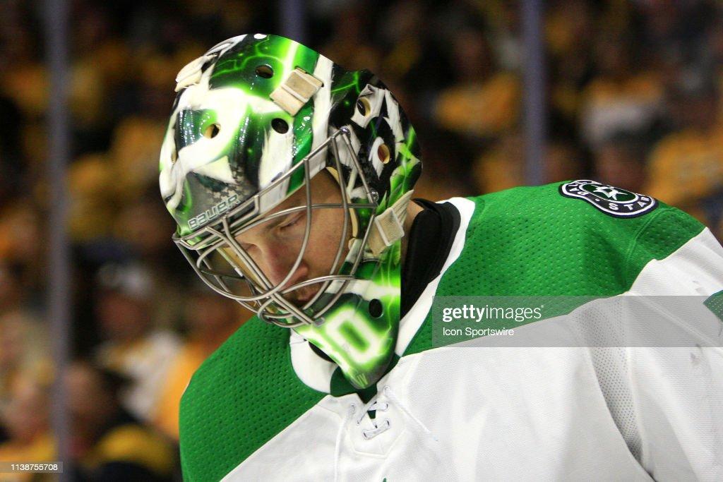 NHL: APR 20 Stanley Cup Playoffs First Round - Stars at Predators : News Photo