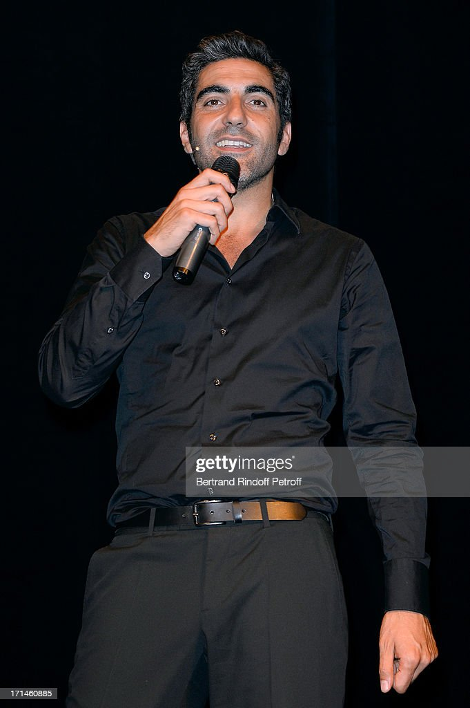 the Ary Abittan performance at Theater Edouard VII benefiting 'Un Coeur Pour La Paix' on June 24, 2013 in Paris, France.