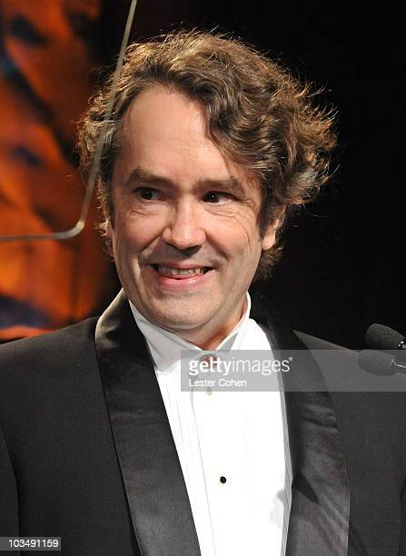 The ASCAP Henry Mancini Career Achievement Award in Film Television Music recipient Carter Burwell speaks onstage during 24th Annual ASCAP Film and...