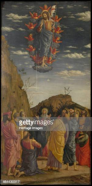 The Ascension Trittico degli uffizi left panel ca 14631464 Found in the collection of the Galleria degli Uffizi Florence