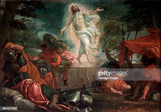 'The Ascension of Christ' c1580 Veronese Paolo Found in the collection of the State A Pushkin Museum of Fine Arts Moscow