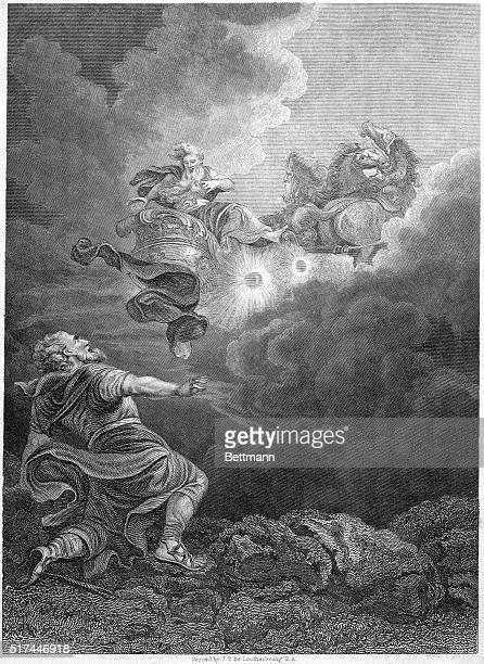 The Ascent of Elijah Undated engraving