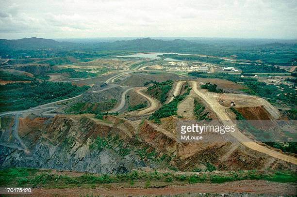 The Ashanti Goldfields strip mine in Obuasi in the Ashanti Region in Ghana, West Africa The Ashanti Goldfields are home to the single richest gold...