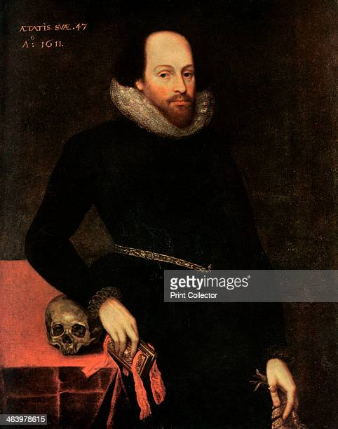 The Ashbourne Portrait of Shakespeare 16th century Originally thought to have been of William Shakespeare the painting is now thought to be a lost...