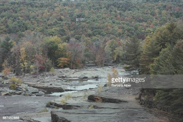 The Ashokan Reservoir in Ulster County, New York, October 1991.