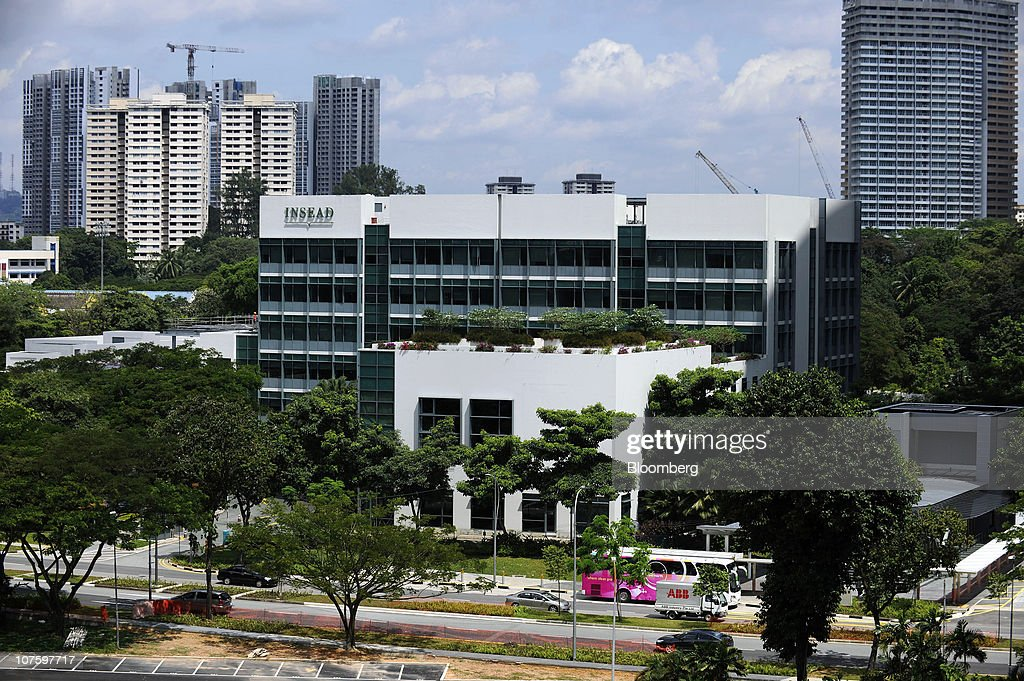 The Asia campus of Insead stands in Singapore, on Monday, Dec. 6, 2010. Yale University may join Duke University, the University of Chicago, Imperial College London and France's Insead among colleges to set up a campus in Singapore, a nation of 5 million people with a land mass smaller than New York City. The city-state wants to attract 150,000 international students by 2015 as it seeks to boost the contribution education makes to gross domestic product to 5 percent from 3.2 percent last year and 1.9 percent in 2000. Photographer: Munshi Ahmed/Bloomberg via Getty Images