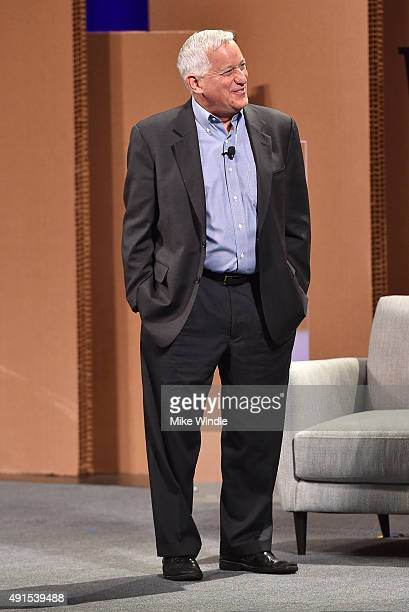 The Aspen Institute President and CEO Walter Isaacson speaks onstage at the Vanity Fair New Establishment Summit at Yerba Buena Center for the Arts...