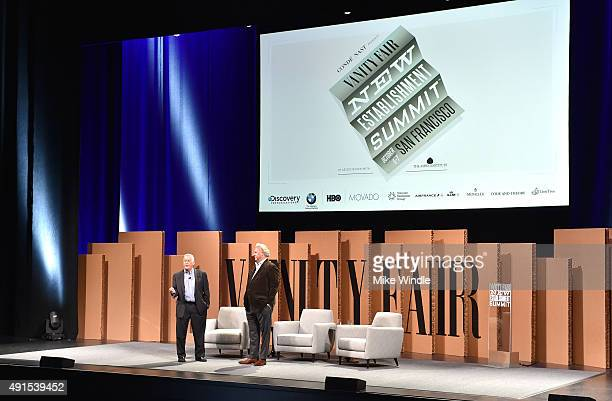 The Aspen The Aspen Institute President and CEO Walter Isaacson and Vanity Fair EditorinChief Graydon Carter speak onstage during Day 1 of the Vanity...