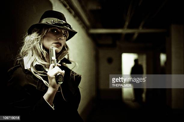 the assasins - female execution photos stock pictures, royalty-free photos & images