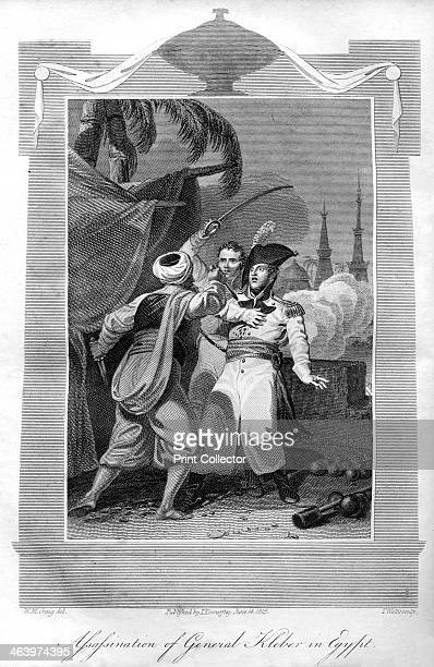 The assassination of General Kléber in Egypt 1816 Jean Baptiste Kléber was a French general during the French Revolutionary Wars From The History of...