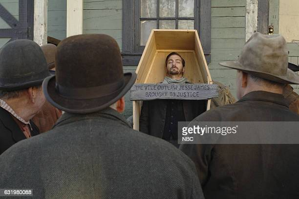 TIMELESS The Assassination of Jesse James Episode 111 Pictured Daniel Lissing as Jesse James
