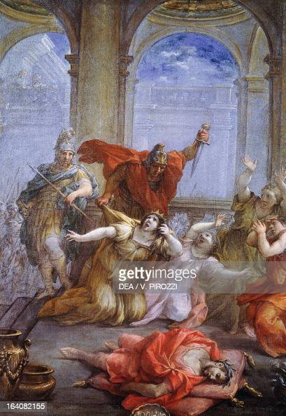 The Assassination Of The Emperor Caligula Of His Wife And