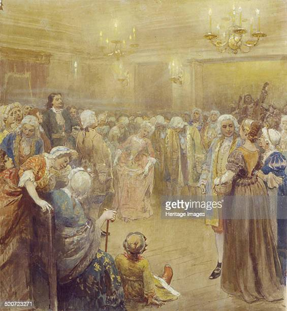 The Assembly at the time of Peter I Found in the collection of State Art Museum Ivanovo