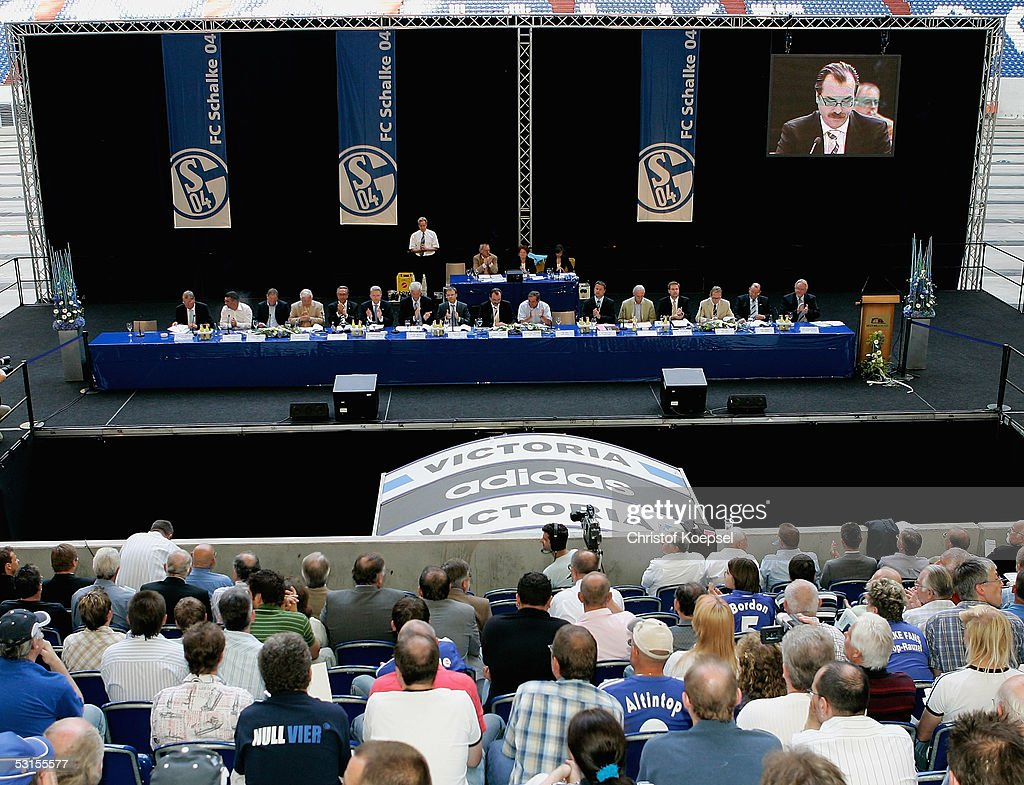 Bundesliga Schalke 04 General Meeting : News Photo