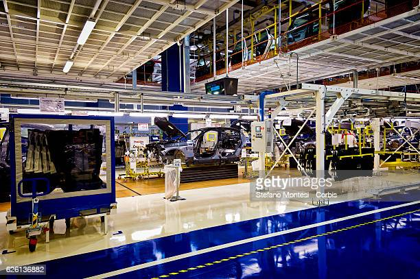 The Assembly Lines where they assemble the Alfa Romeo Giulia in the Cassino Assembly Plant FCA Group In this area it takes place manual work this is...
