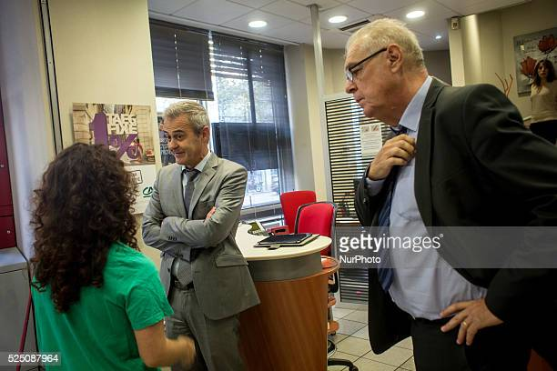 the association friends of the heart made an action today against the french bank credit agricole the action was about the investment of the bank in...