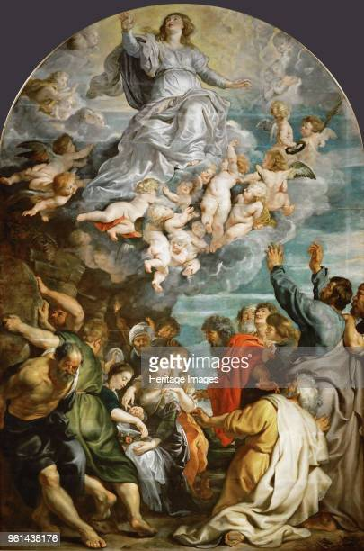 The Assumption of the Blessed Virgin Mary ca 1611 Found in the Collection of Art History Museum Vienne
