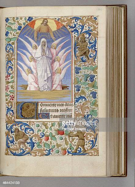 The Assumption of the Virgin 14501499 Found in the collection of the The Morgan Library Museum New York